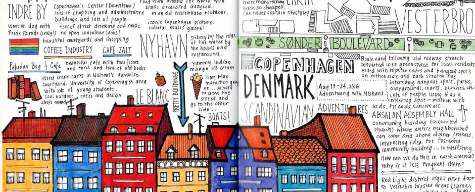 Dansko ilustracia