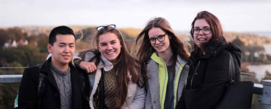 Jesenna skola so Scandinavian study - studneti Scandinavian study v Dansku
